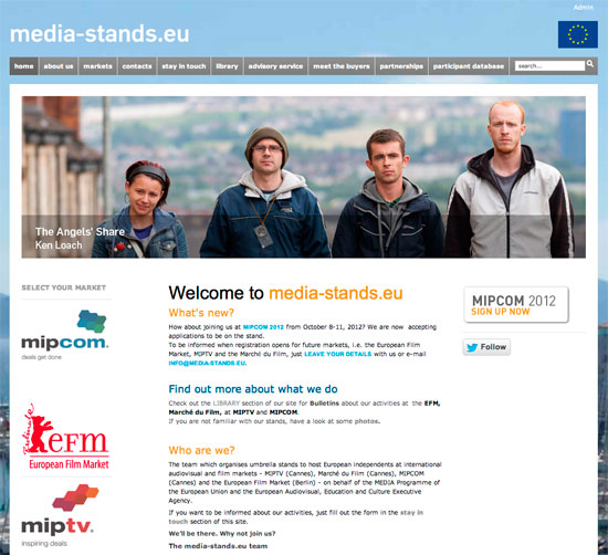 Media-stands <em> : website </em>