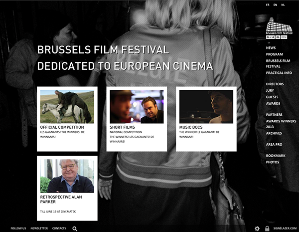Brussels Film Festival <em> — website </em>